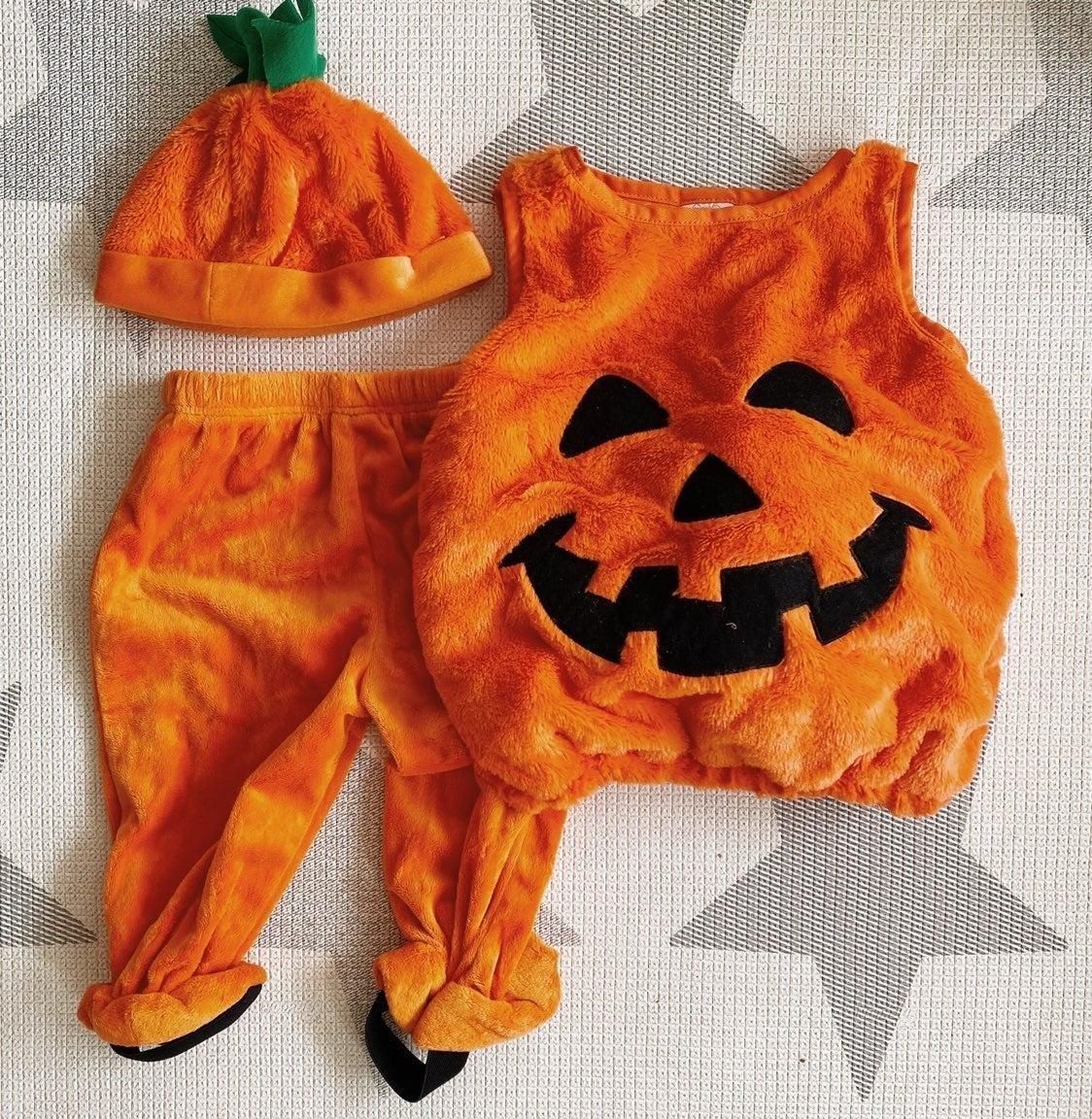 Baby Pumpkin Costume (12 M)