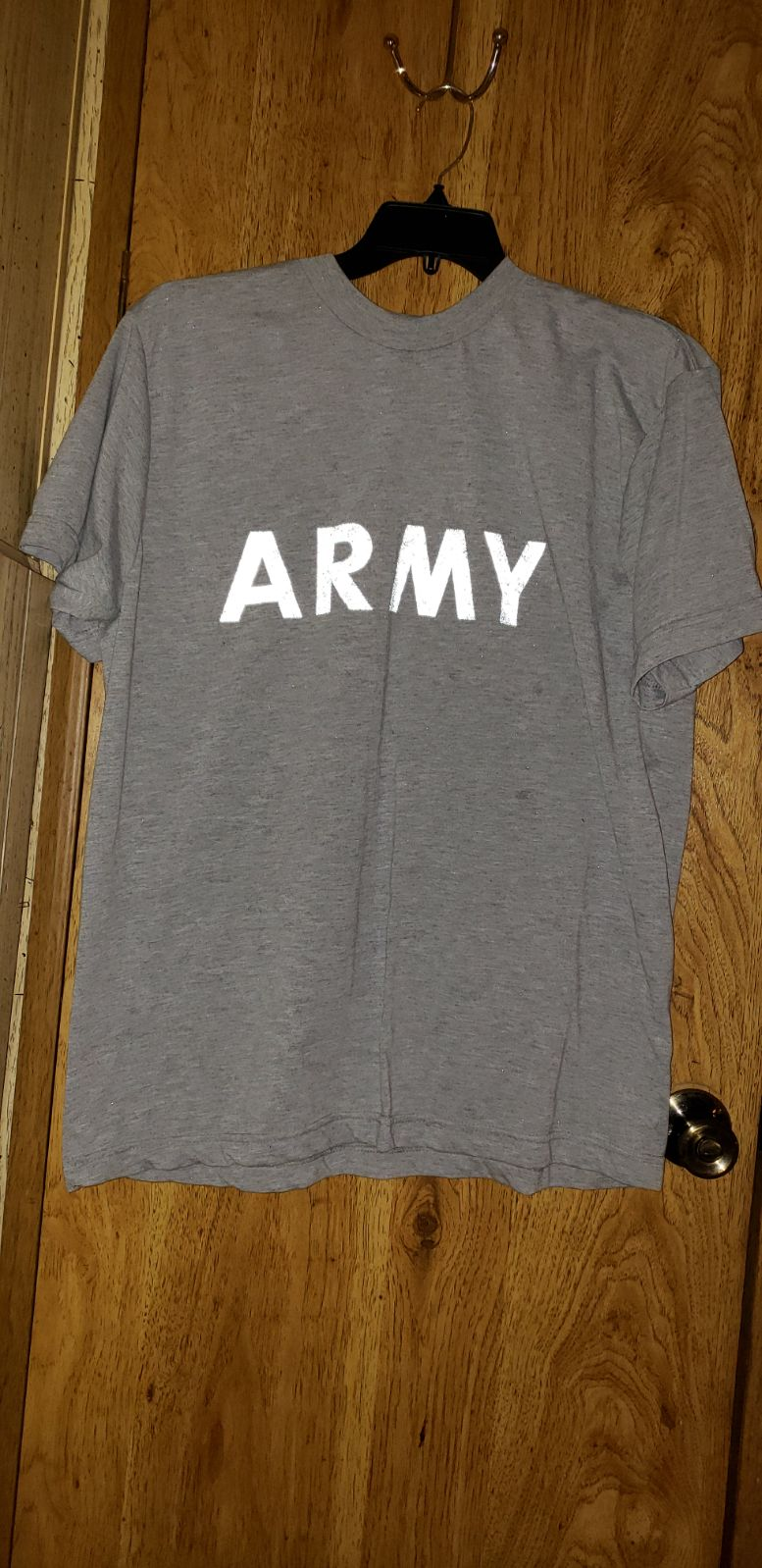 Army pt top