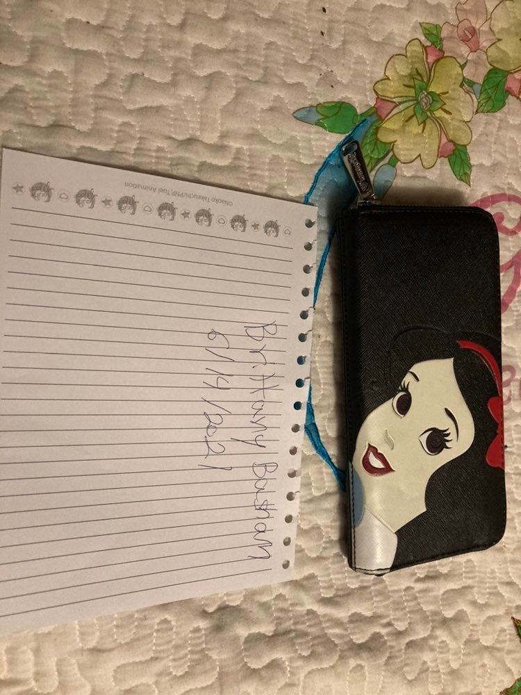 Snow White Wallet