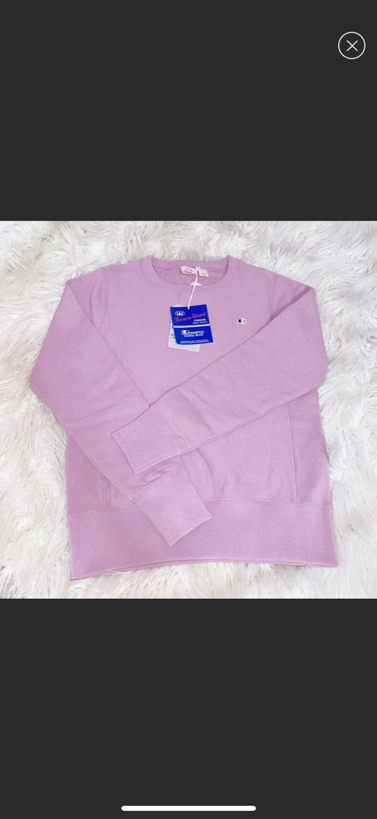Champion Reverse Weave Sweatshirt Lilac