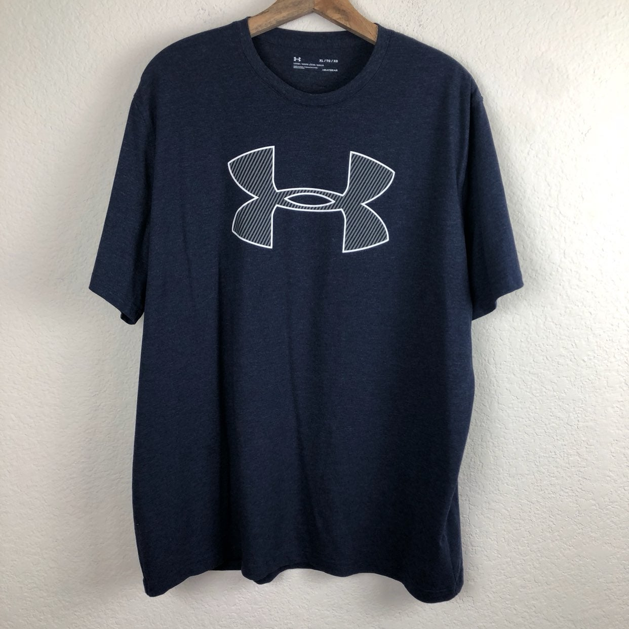 Under Armour Men's Blue gray T-shirt XL