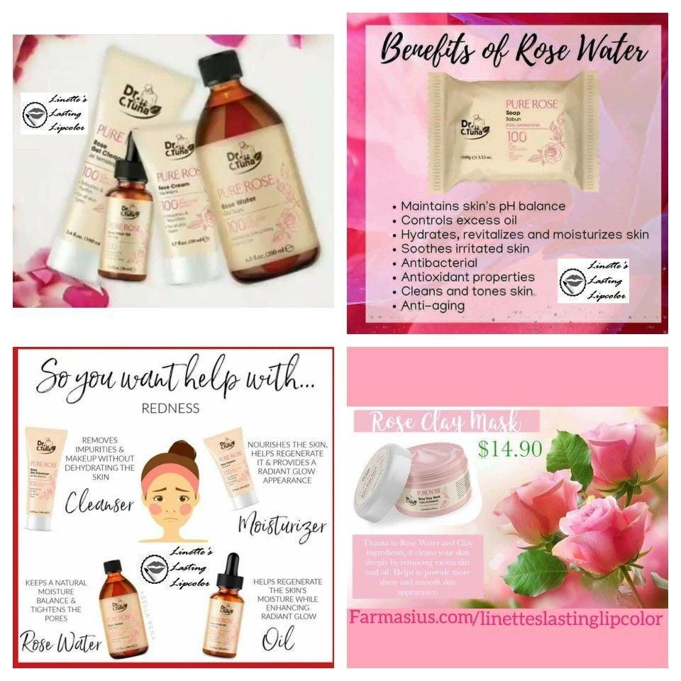 Farmasi Pure Rose set
