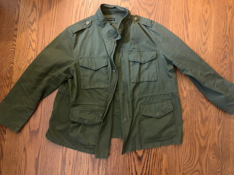 Lane Bryant Army Green Jacket Size 18