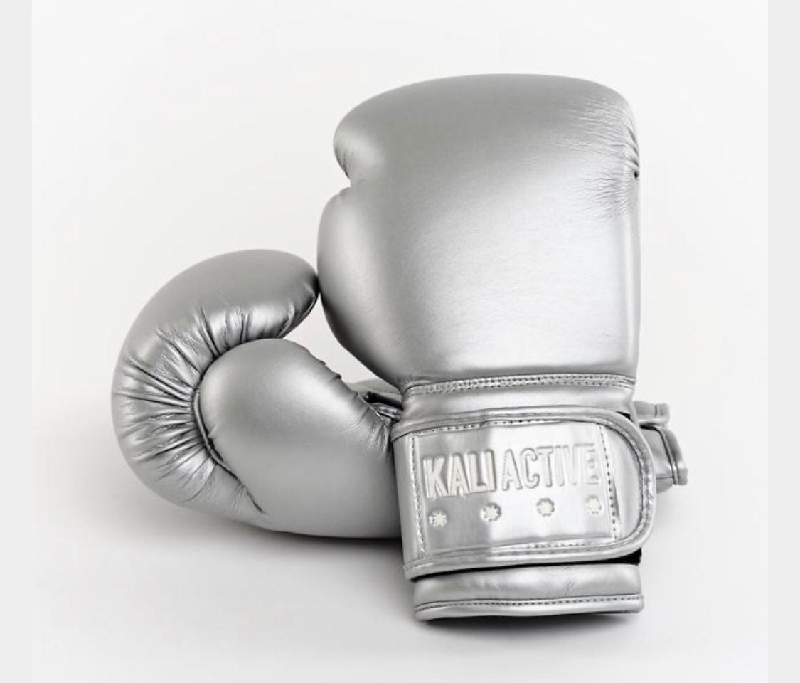 Kali Activr Silver Boxing Gloves