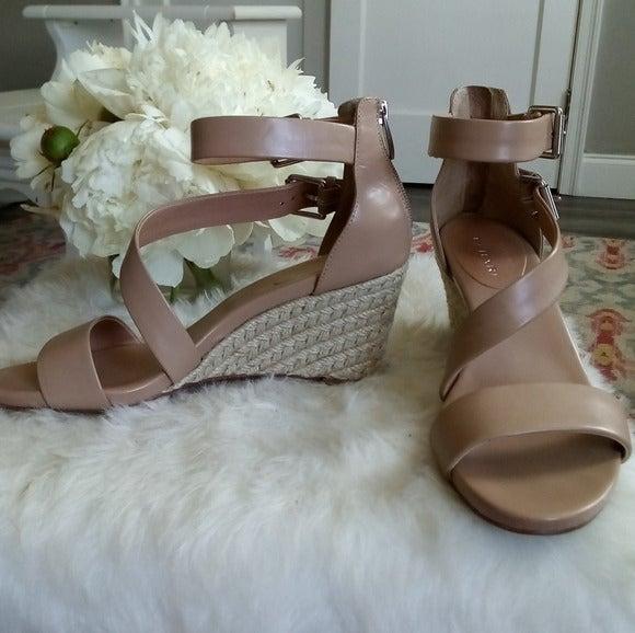 Tahari Flaunt Genuine Leather Sandals