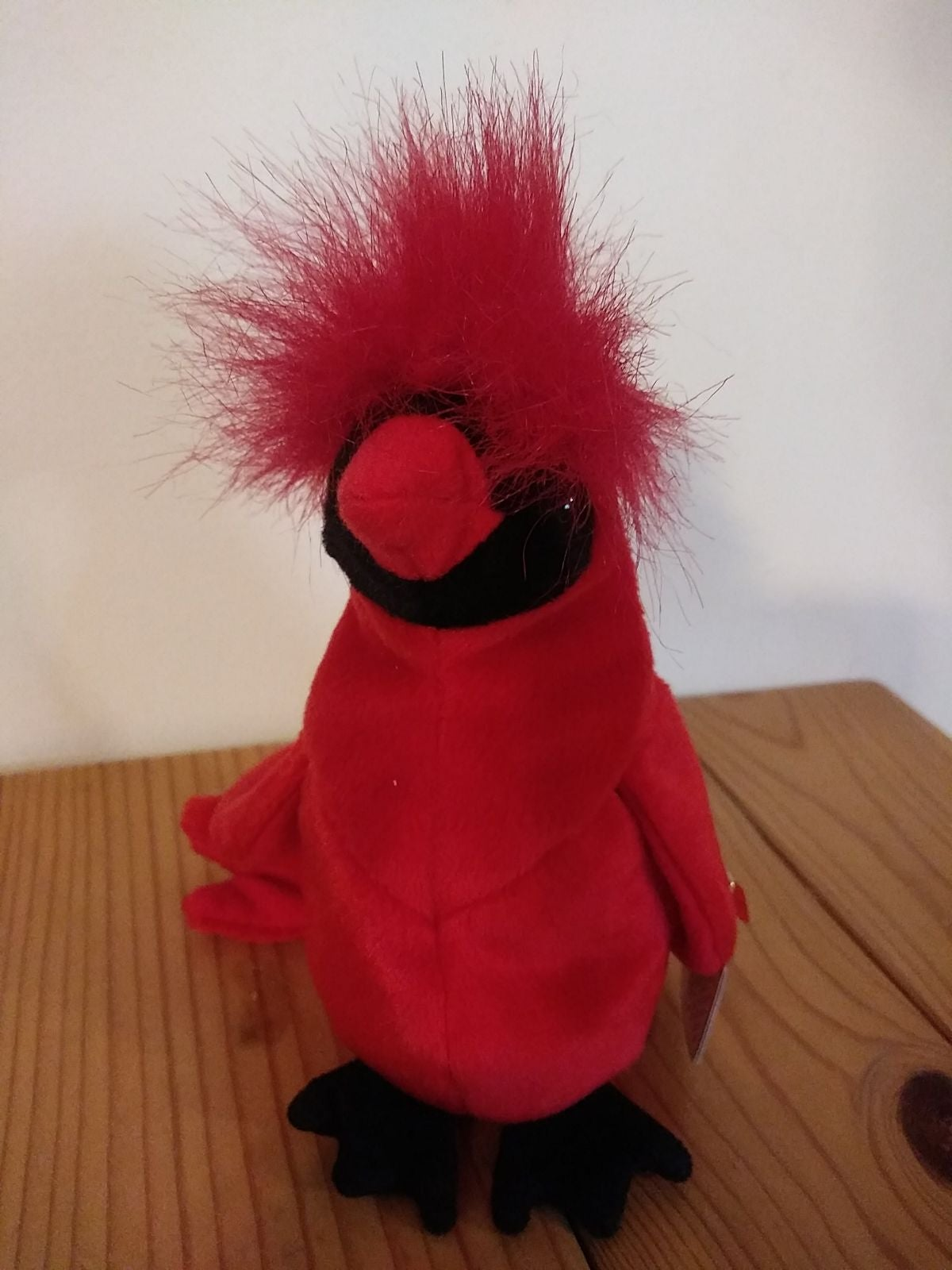 TY Beanie Baby - MAC the Red Cardinal