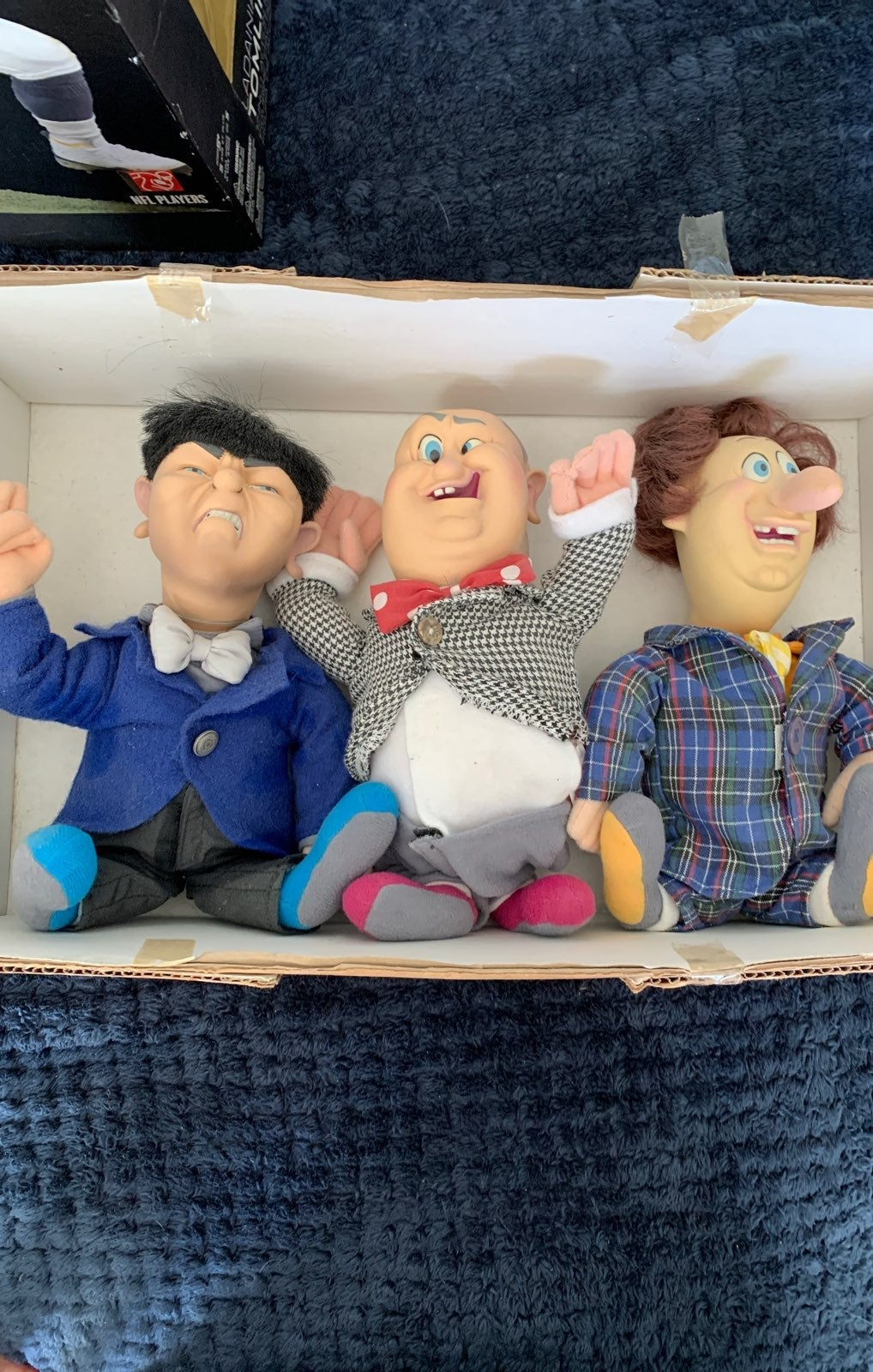 The three stooges figures collectibles