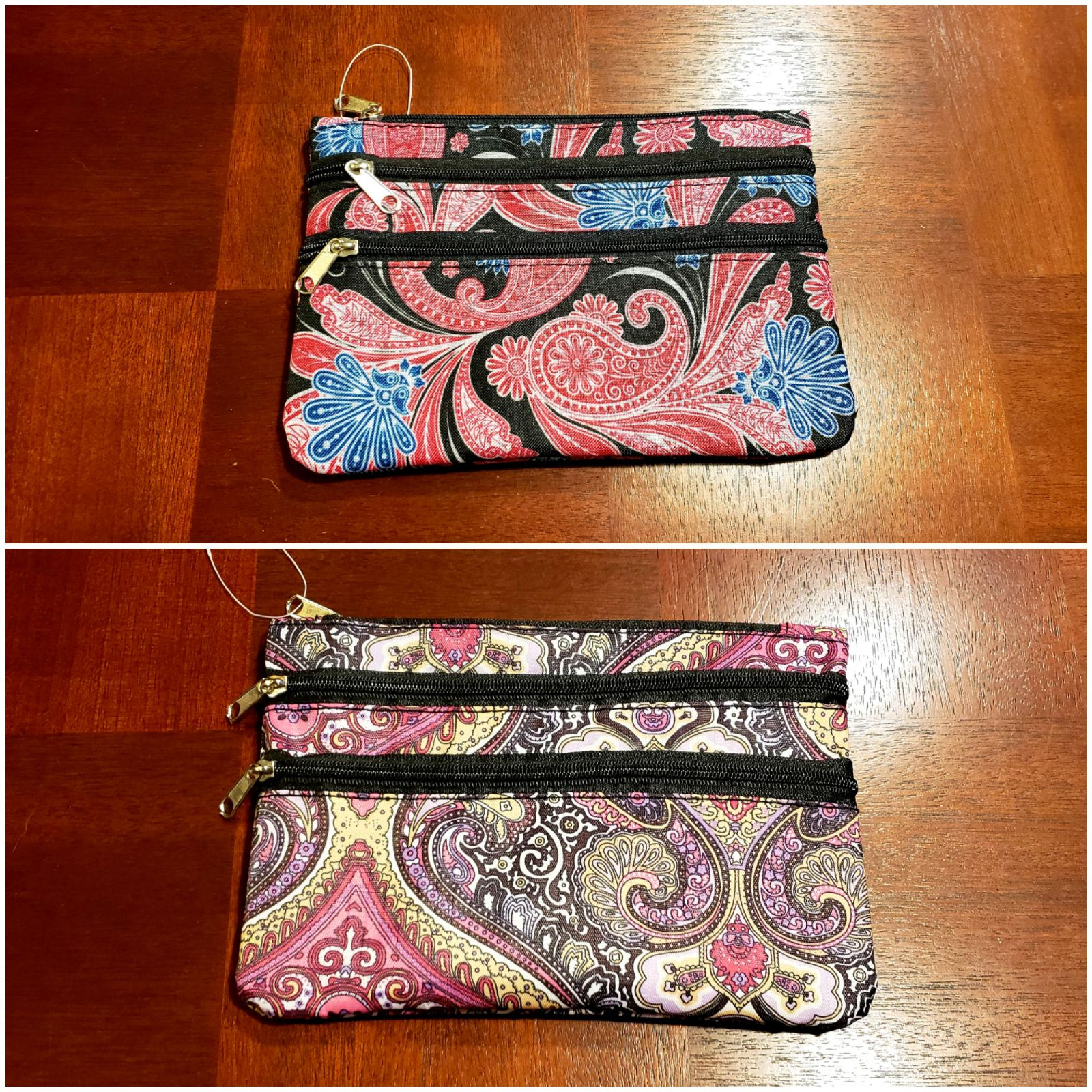 Set of 2 travel pouches