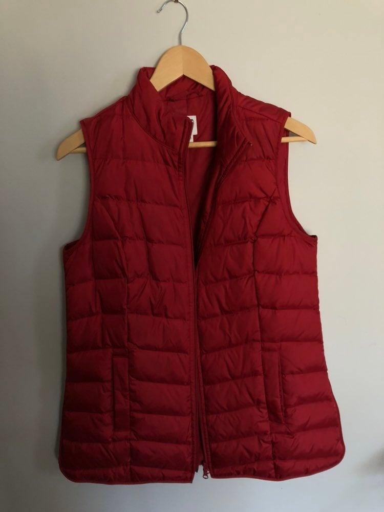 Front-Zip Down Vest