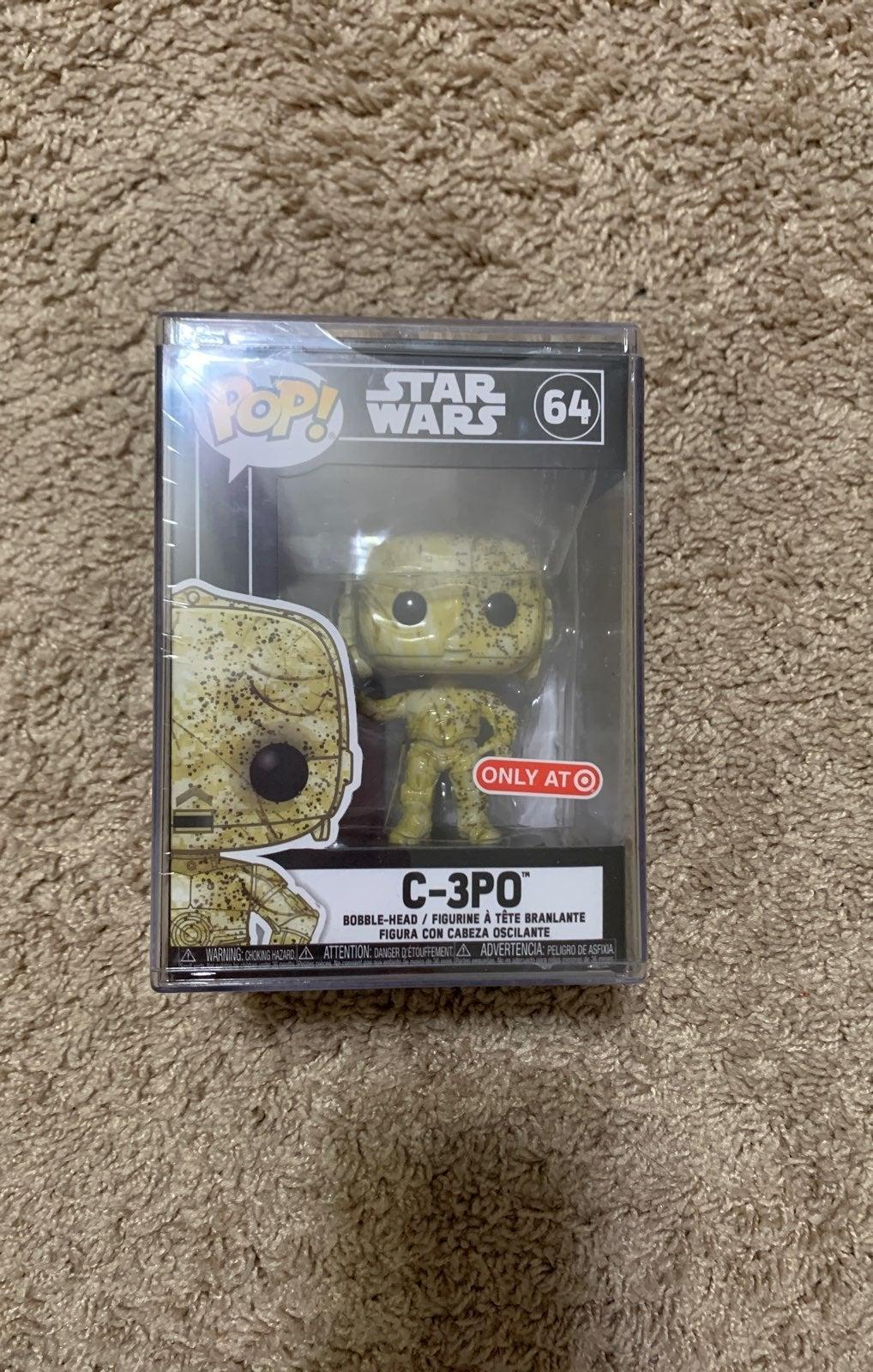 Futura C-3PO funko pop