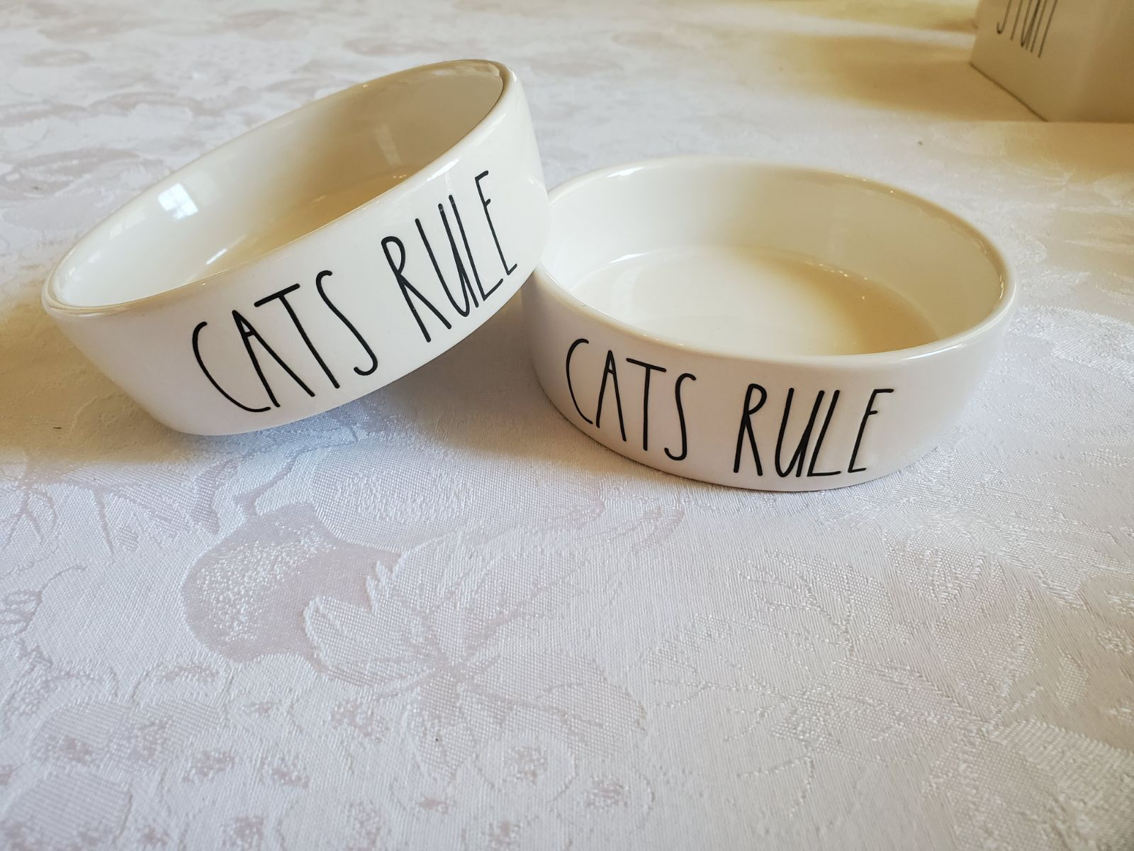 Rae Dunn Cat Bowl