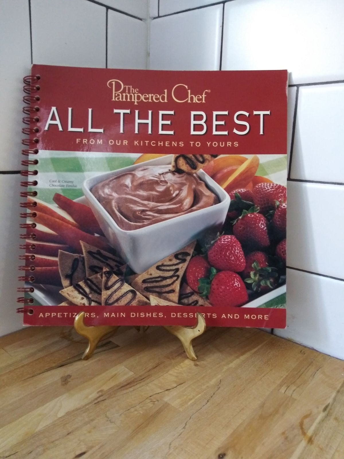 All The Best Cookbook The Pampered Chef