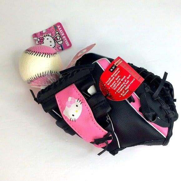 Hello Kitty Softball/TBall Glove Ball *K