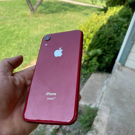 iPhone XR (Product)Red 64 gigabytes Unlo
