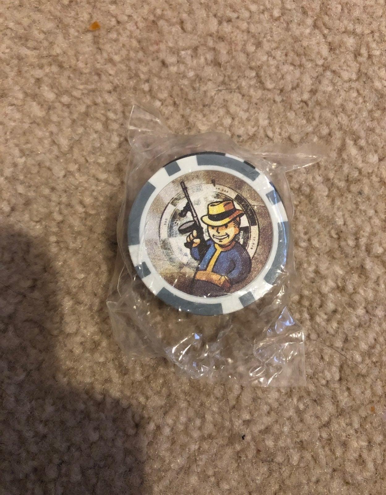 Fallout New Vegas Promotional Poker Chip