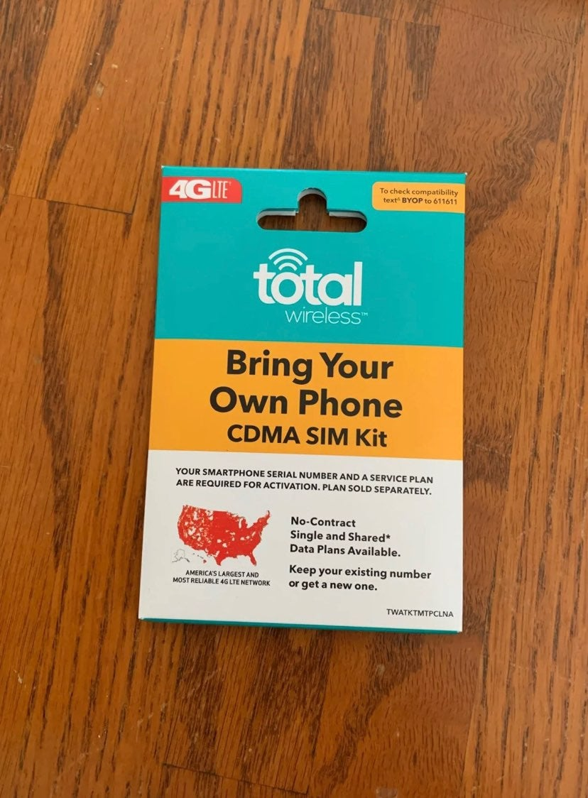 Total Wireless Bring Your Own Phone CDMA