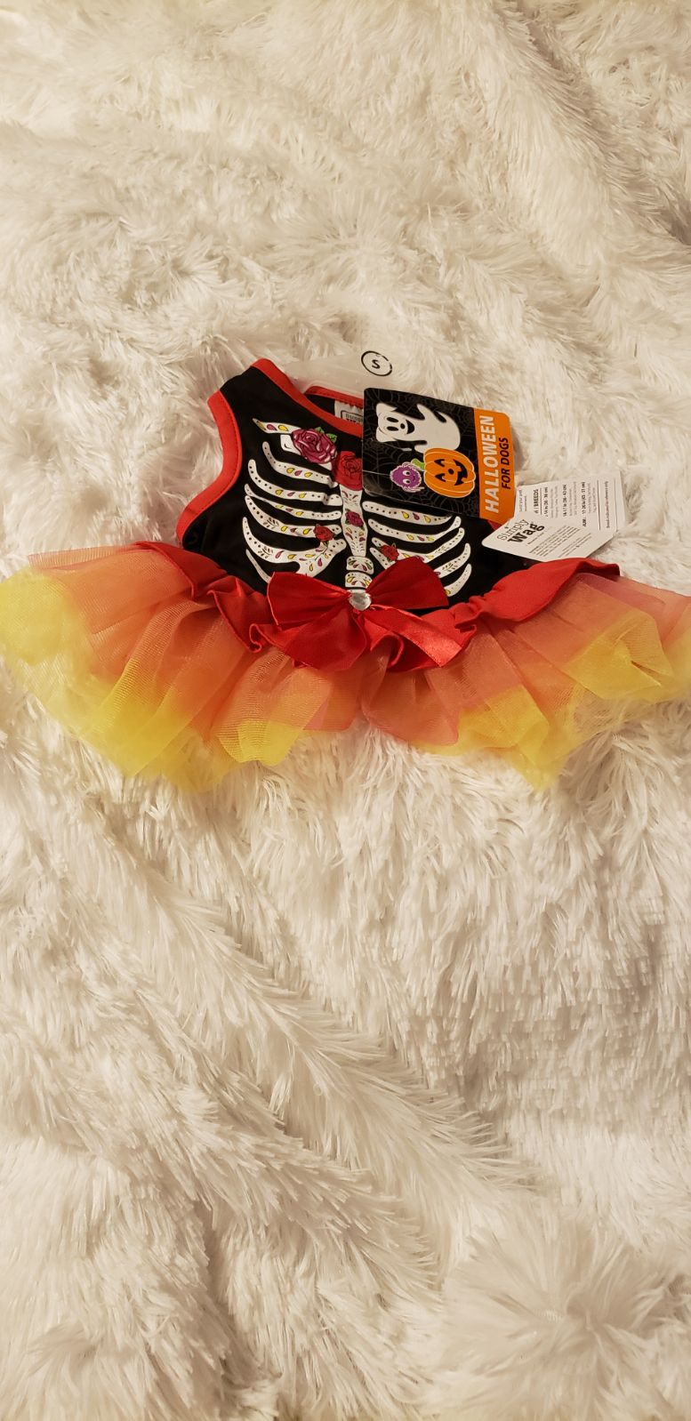 NWT size Small Dog Halloween outfit dres