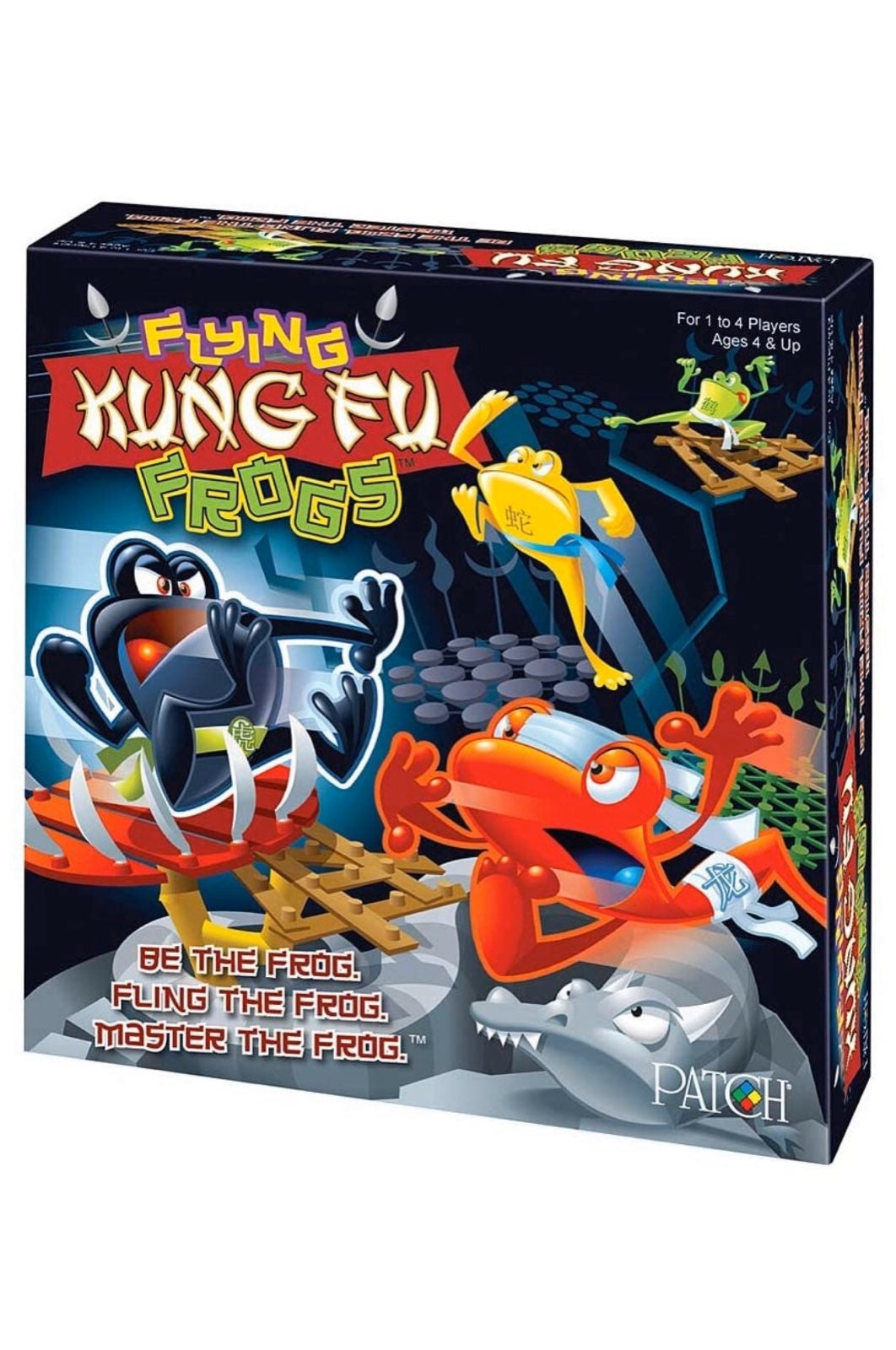 Flying Kung Fu Frogs Game -NEW