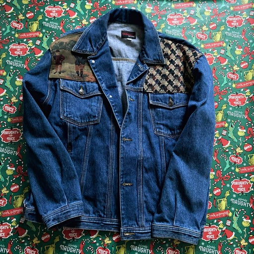 RARE - Sunbelt Stitched Denim Jacket