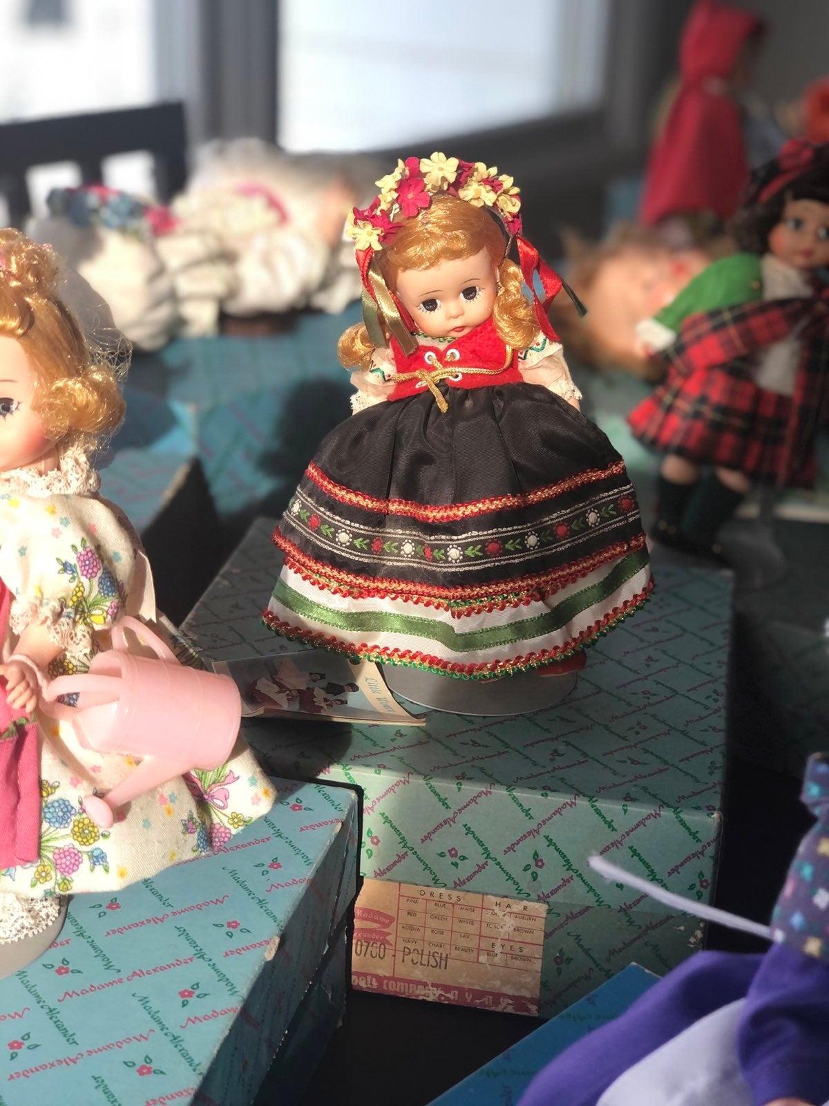 Vintage Madame Alexander Dolls