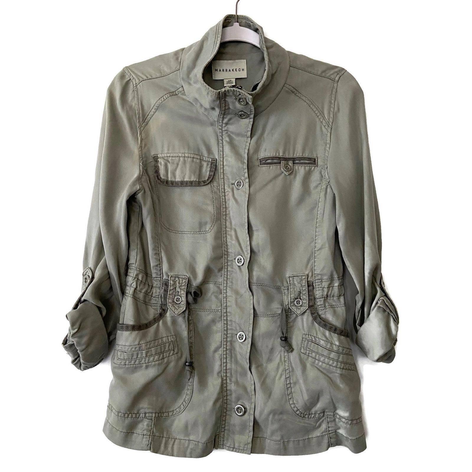 Marrakech Zip Military Combat Jacket