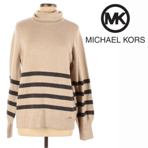 MICHAEL KORS Pullover Sweater Size LARGE