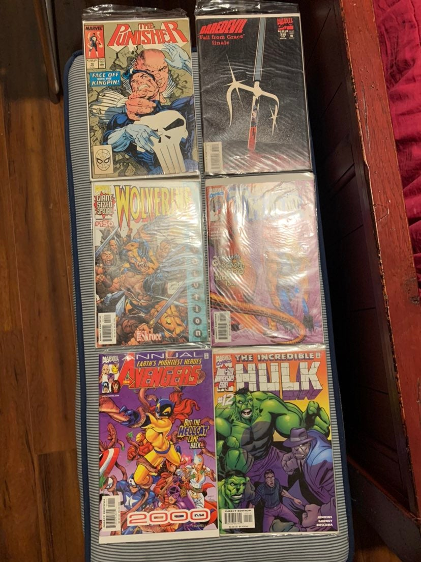 Lot of 20 Vintage Marvel and DC Comic Bo