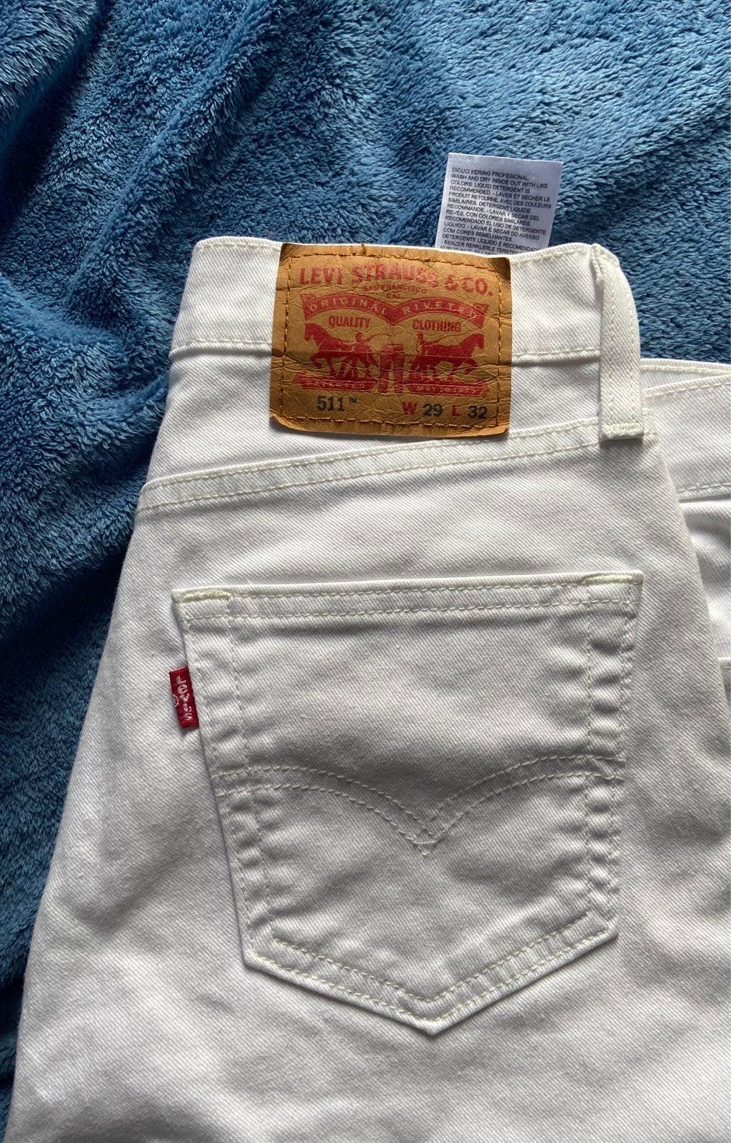 levi jeans mens 511 W29 L32