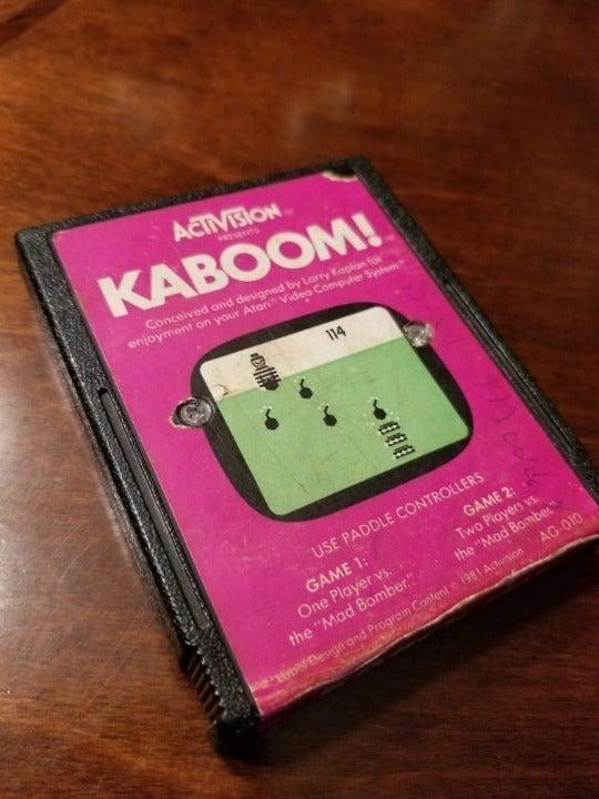 Retro Kaboom (Atari 2600, 1981)