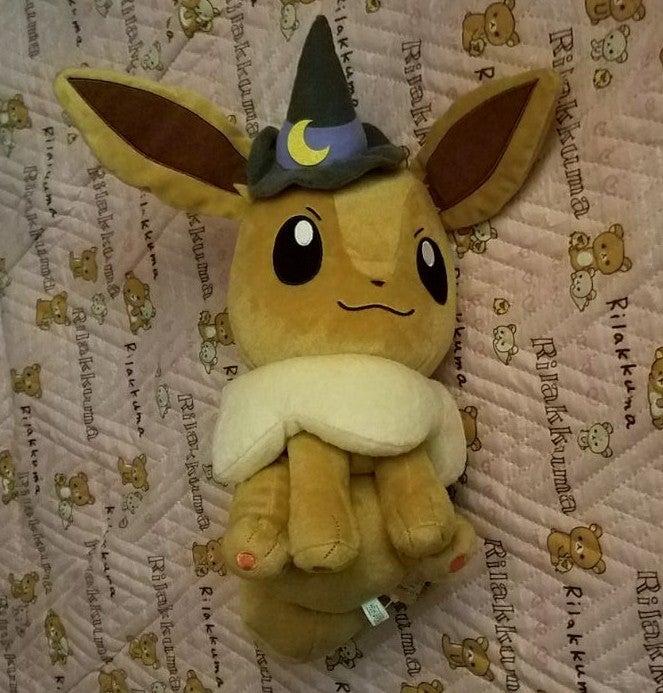 Pokemon Halloween Witch Eevee Plush