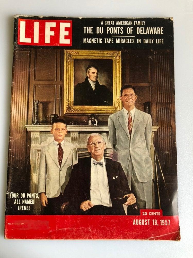 Vintage LIFE Magazine August 19 1957