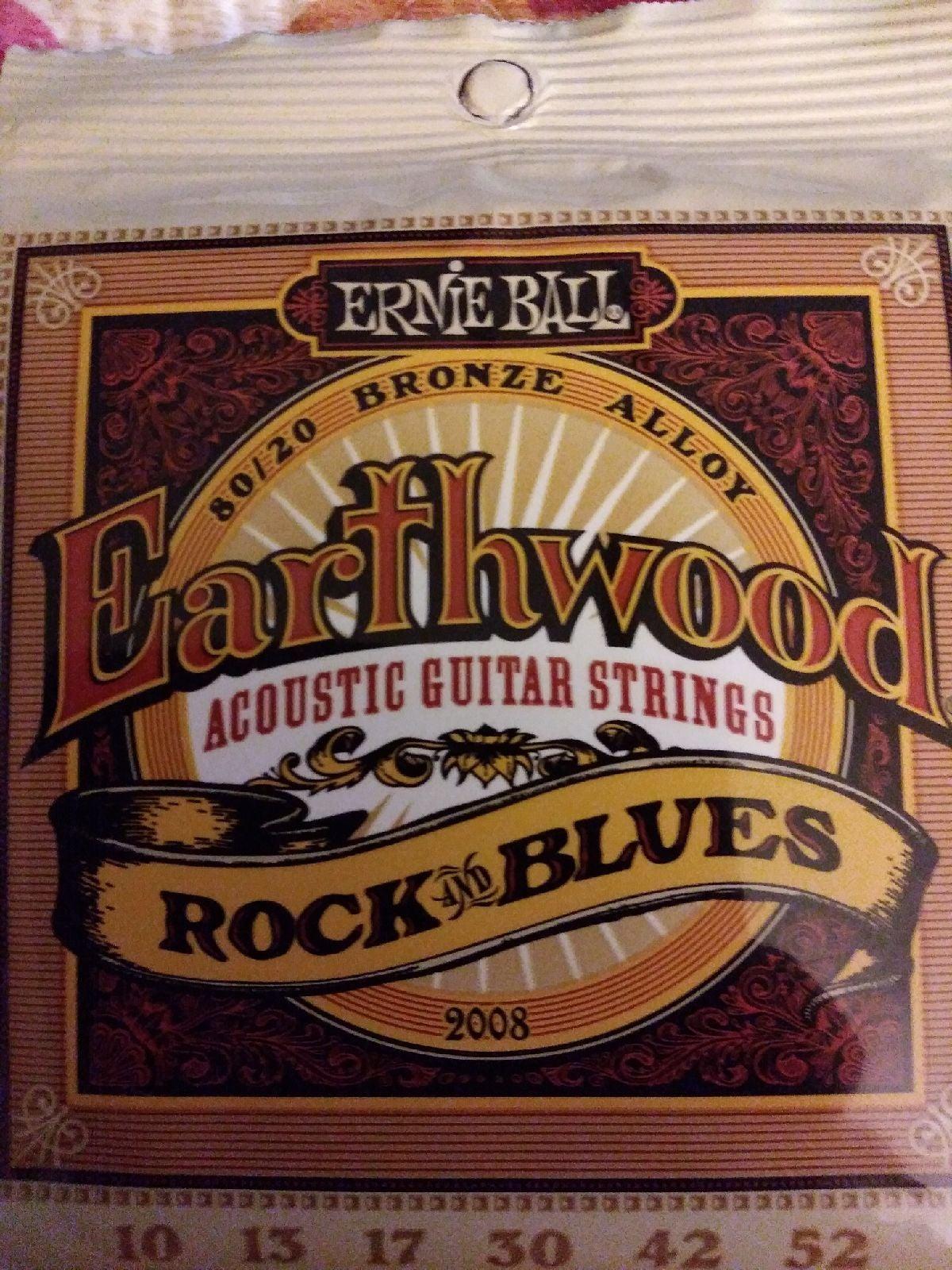 Ernie Ball Rock & Blues Guitar Strings