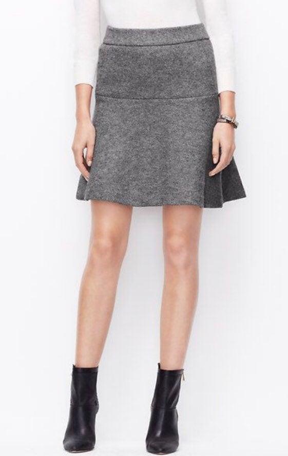 Ann Taylor | Wool Skater Skirt