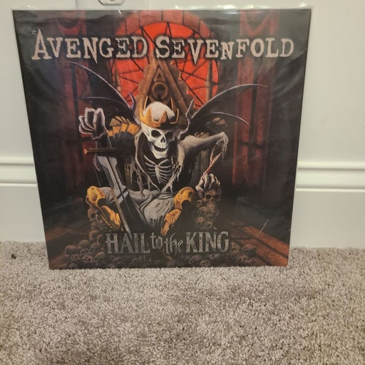 Rare Avenged Sevenfolf vinyl hail to the