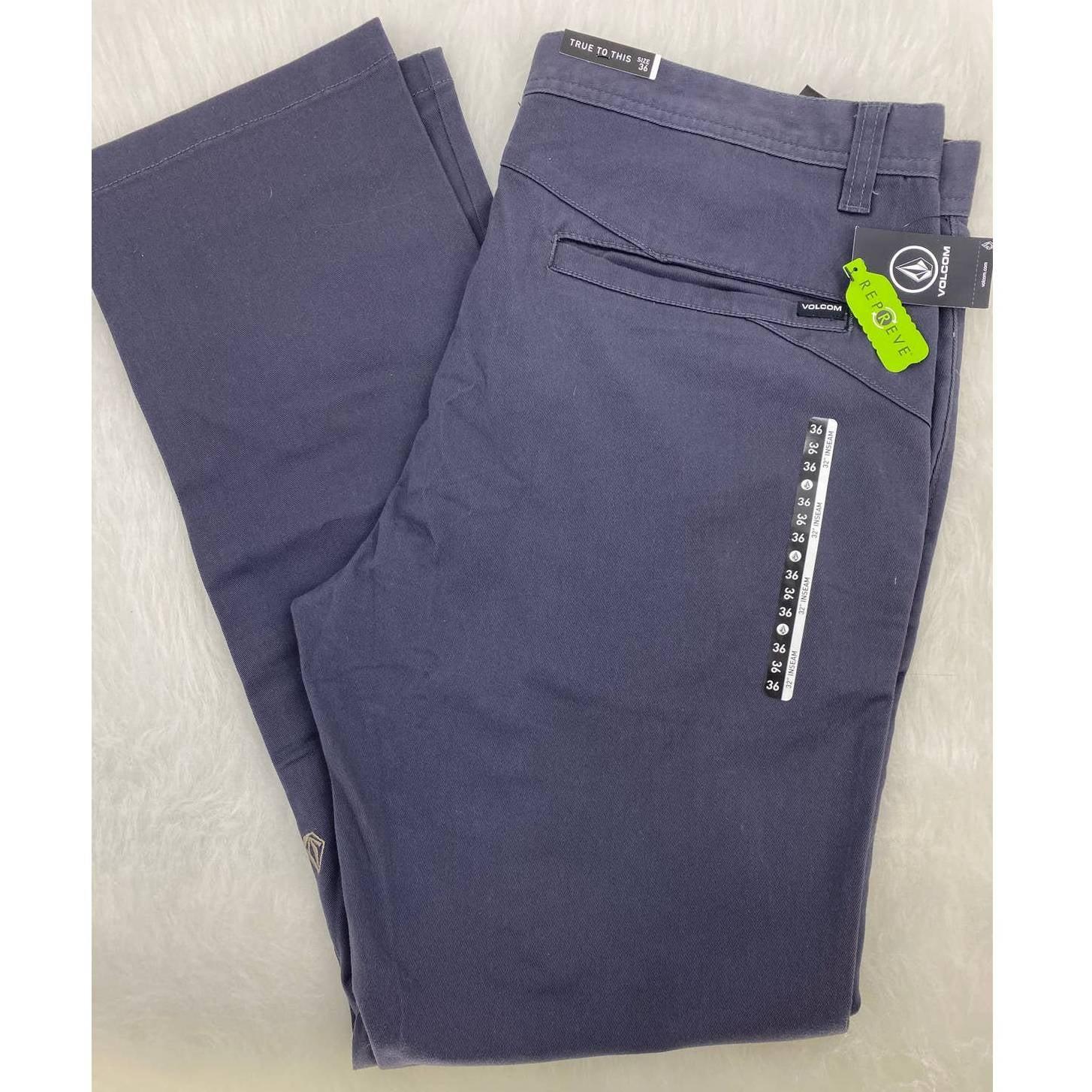 Volcom Chino Pants 36X32 NWT