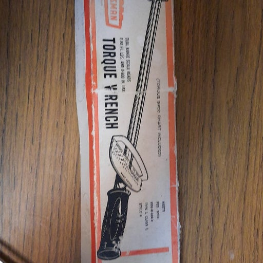 Vintage Craftsman torque wrench