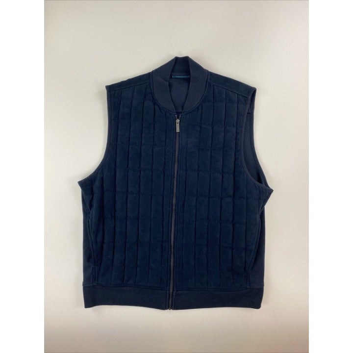 PERRY ELLIS Men's XL Quilted Lined Vest