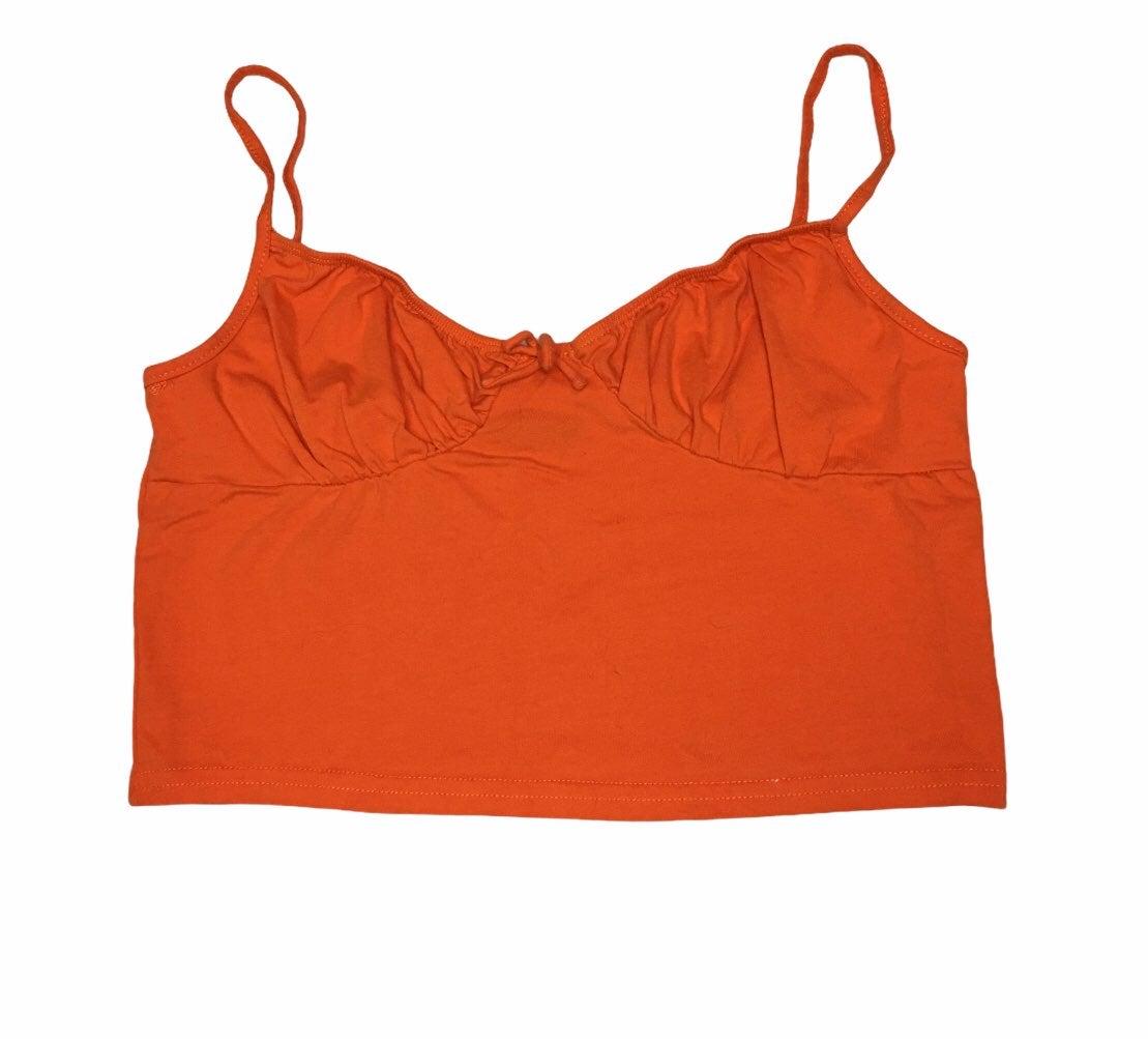orange cami tank