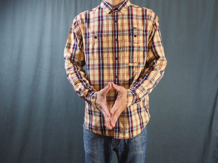 10. Deep button up shirt