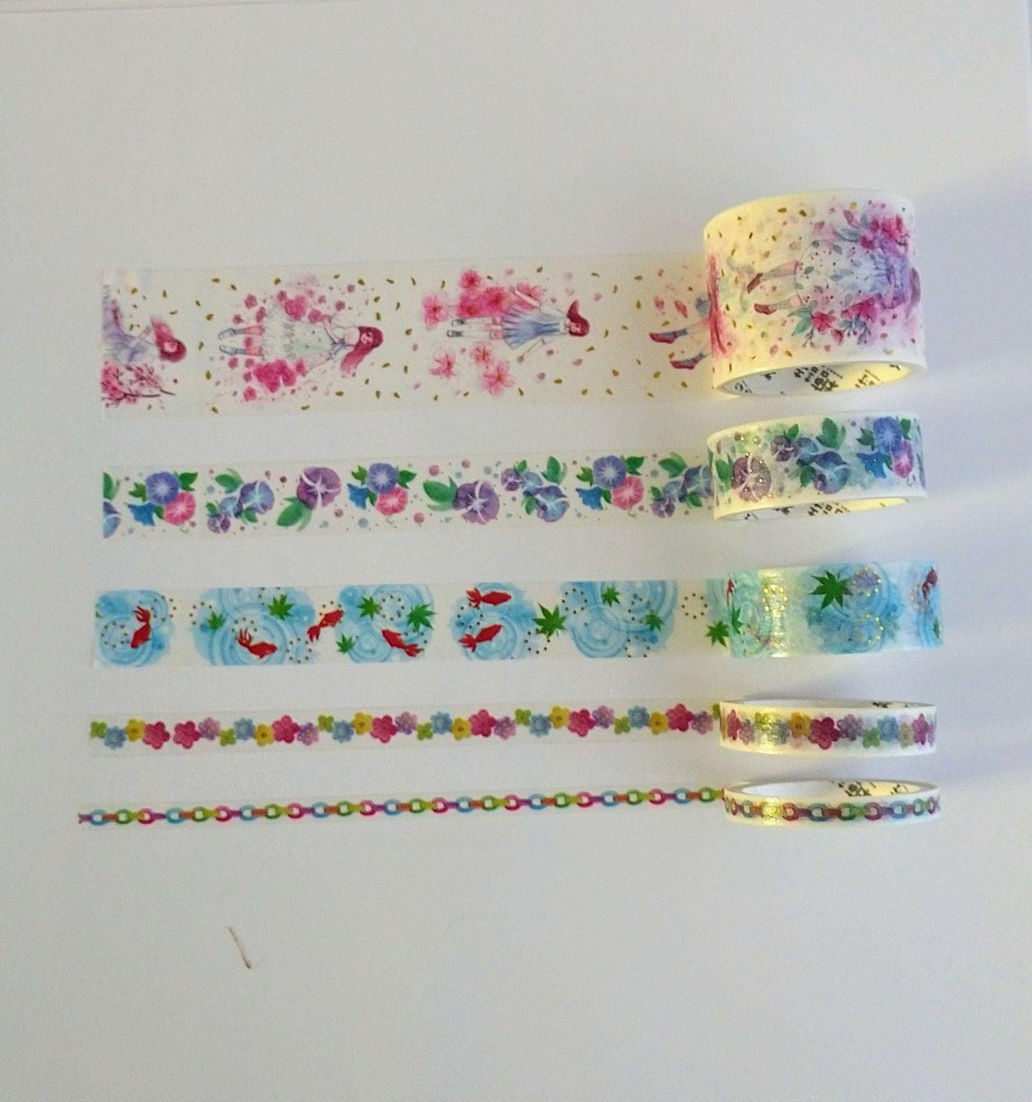 Japanese washi tapes #36