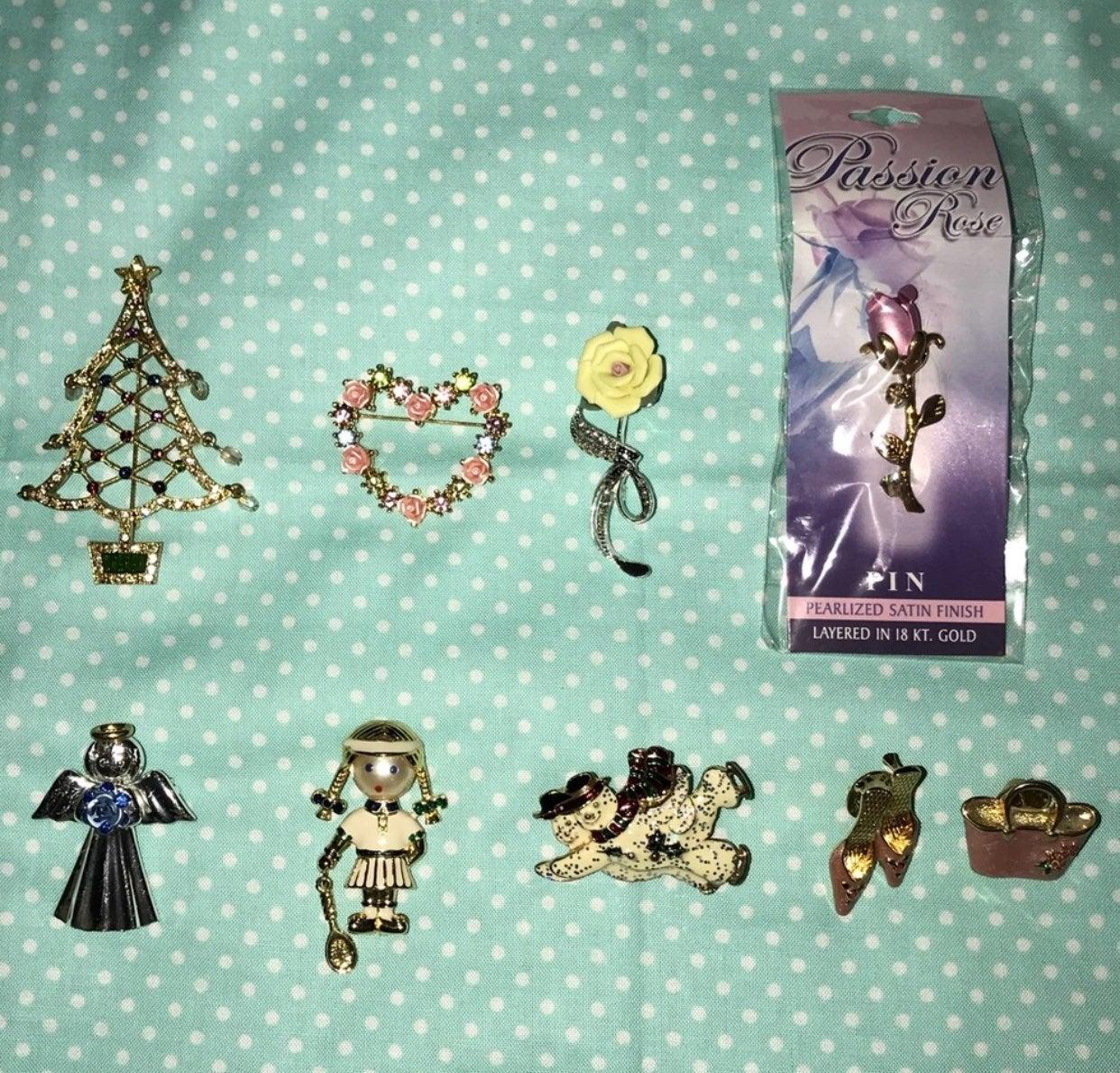 Avon pin bundle of 9