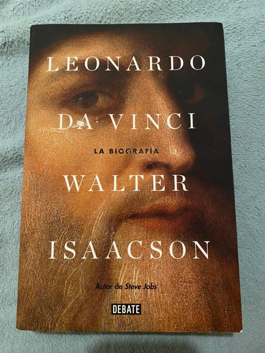 Leonardo Da Vinci Spanish Version Book