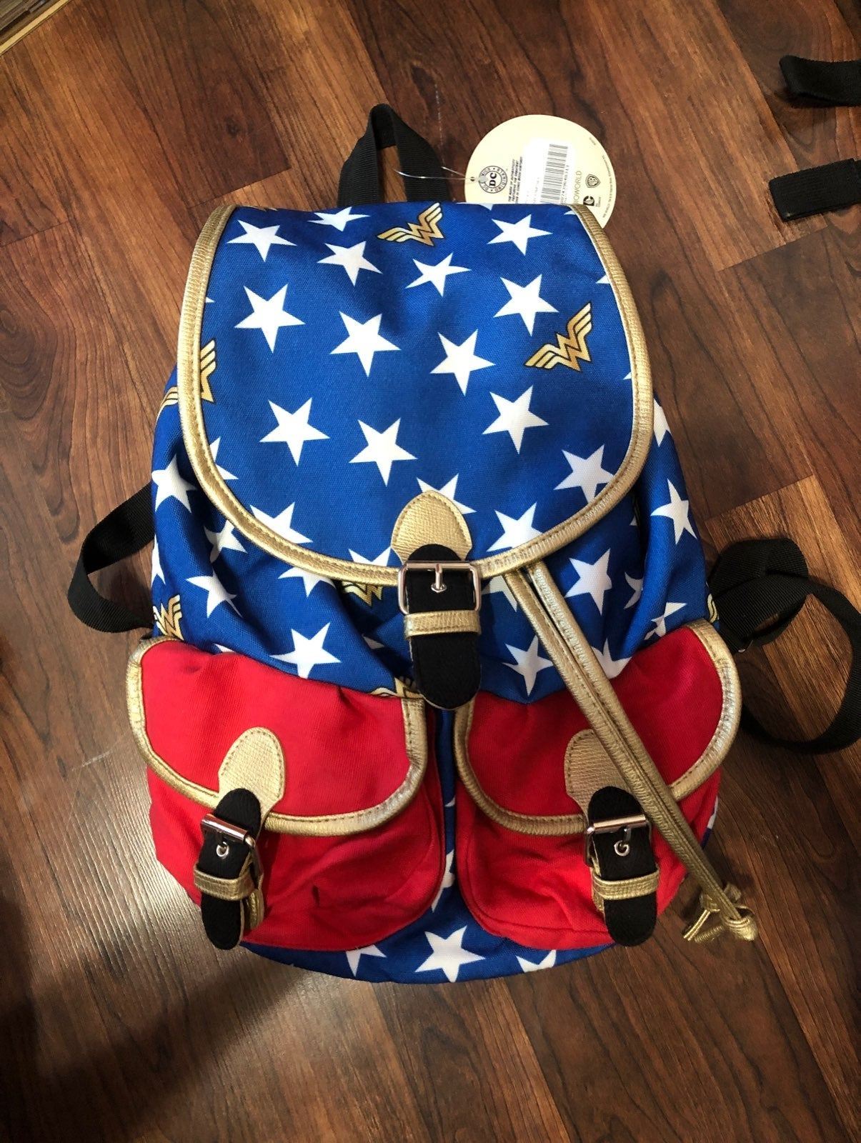 Wonder Woman Backpack NWT