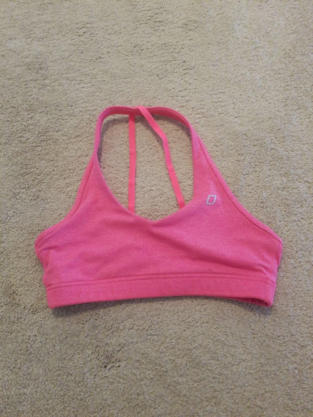 Lorna Jane bright pink halter top