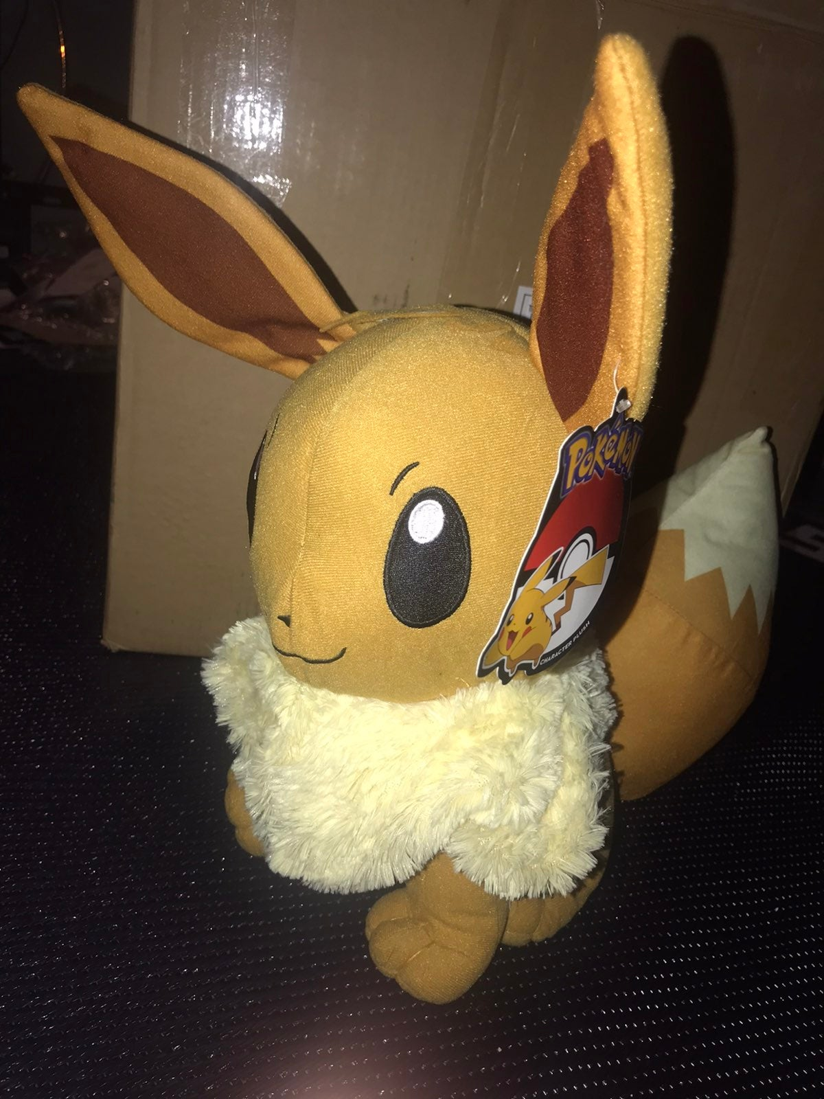 """eevee plush 13"""" new with tag"""