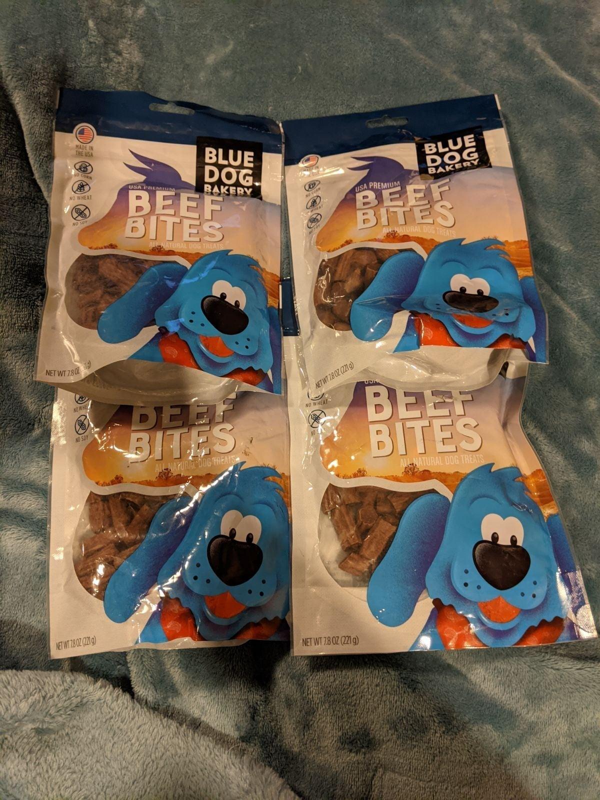 Blue Dog Bakery beef bites treat bundle