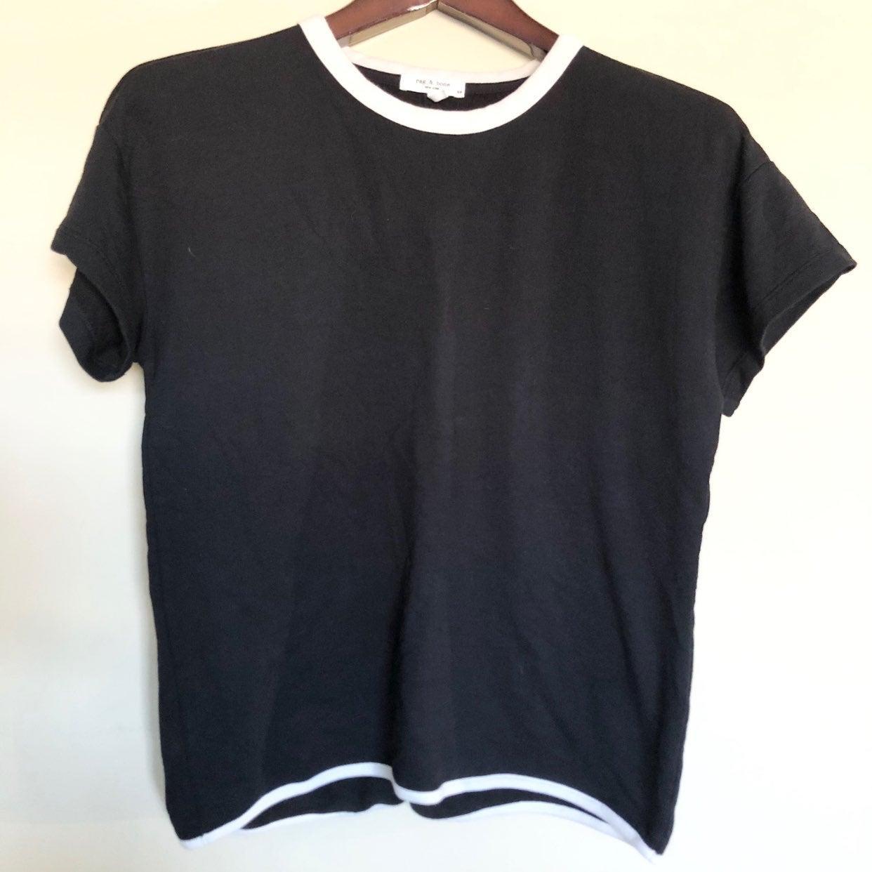 Rag & Bone Black Blouse Size Small