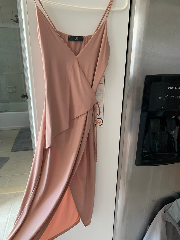 Missguided leg slit dress