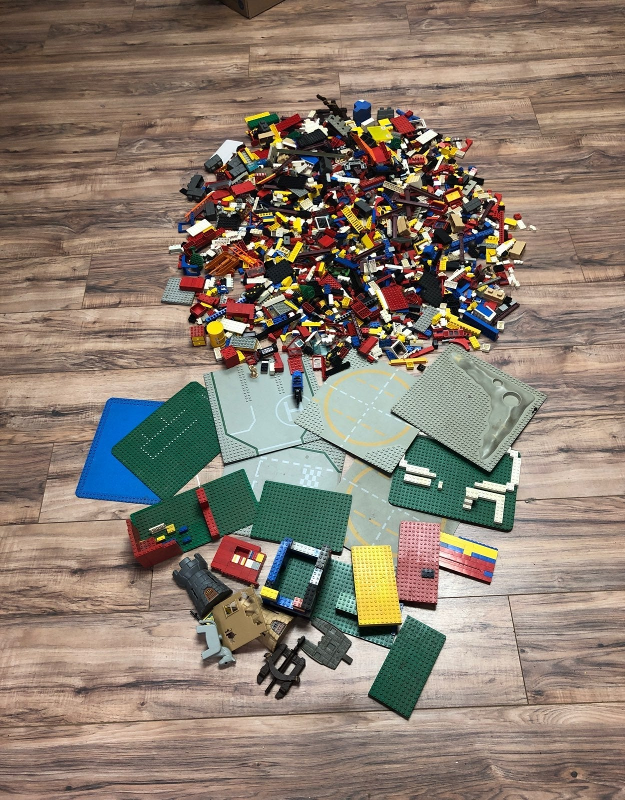 13 lb Box of Legos