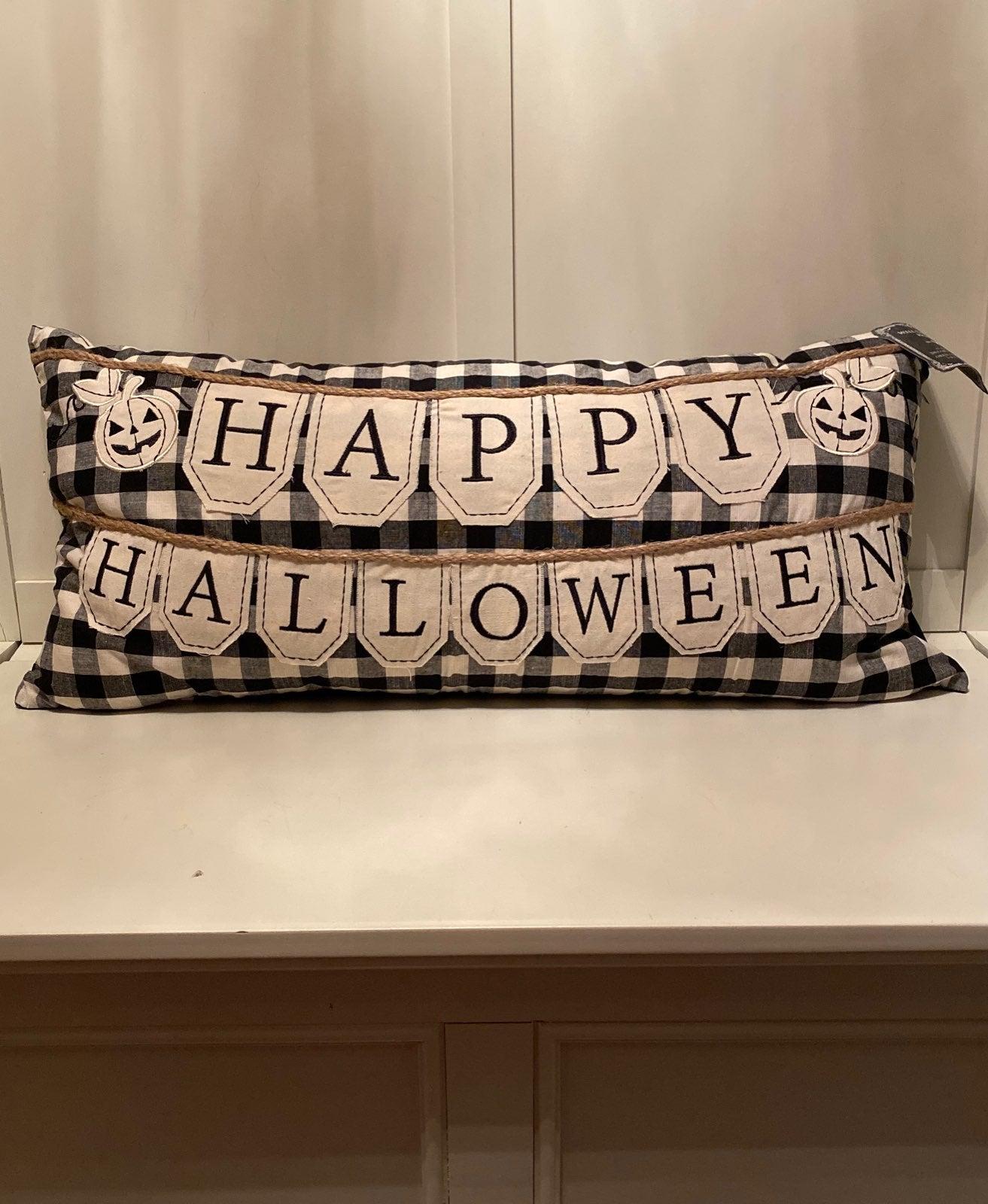 Halloween Decorative Pillow NWT!